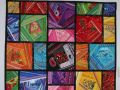 Quilt Henny Meerman Crazy colors mystery quilt